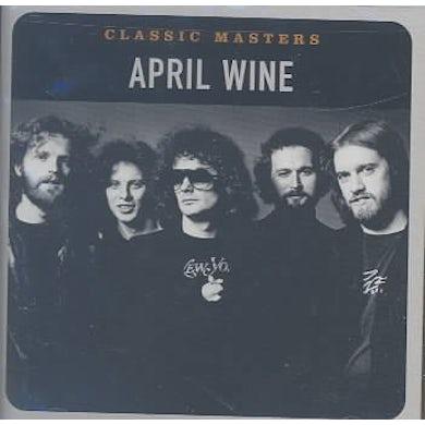 April Wine CLASSIC MASTERS CD