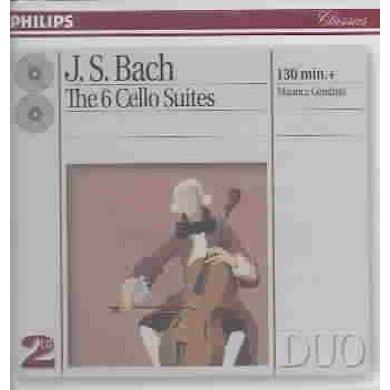 Johann Sebastian Bach The 6 Cello Suites (2 CD) CD