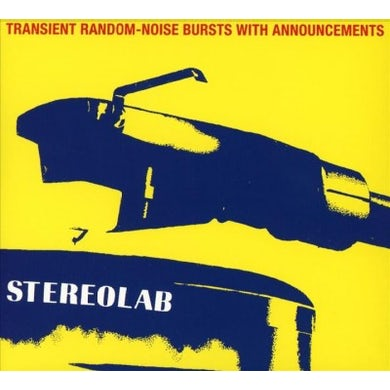 Stereolab Transient Random Noise-Bursts With Announcements CD