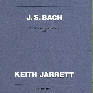 Keith Jarrett The Well-Tempered Clavier, Book 2 (2 CD) CD