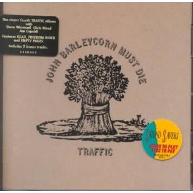 Traffic John Barleycorn Must Die (Remastered) CD