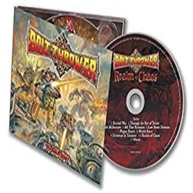 Bolt Thrower Realm Of Chaos CD