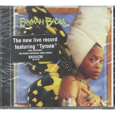 Erykah Badu LIVE CD
