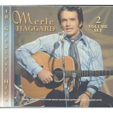 Merle Haggard : 40 Greatest Hits CD