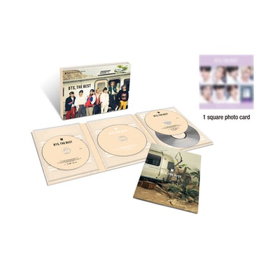 BTS: THE BEST (LIMITED EDITION B/DELUXE SLIPCASE DIGIPAK/2CD/2DVD) CD