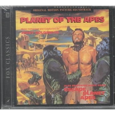 Soundtrack Planet Of The Apes (Jerry Goldsmith) CD