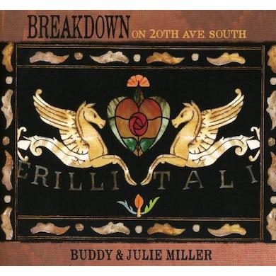 Buddy Miller & Julie Miller Breakdown On 20th Ave. South CD