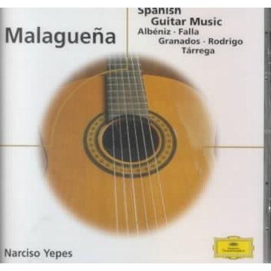 Malague¤a - Spanish Guitar Music CD