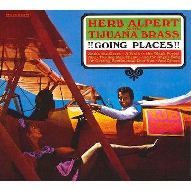 Herb Alpert & the Tijuana Bras Going Places!!! CD