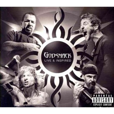 Godsmack LIVE & INSPIRED CD