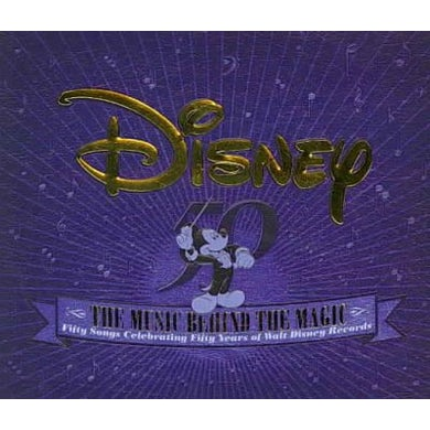 The Music Behind The Magic (2 CD) CD