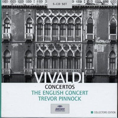 English Concert Concertos (5 CD Box Set)