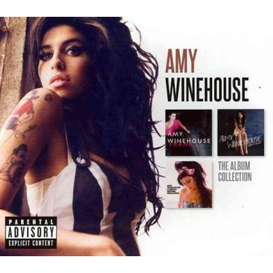 Amy Winehouse The Album Collection (3 CD)(Explicit) CD