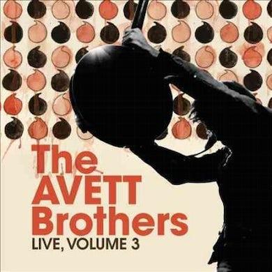 The Avett Brothers Live, Volume 3 CD