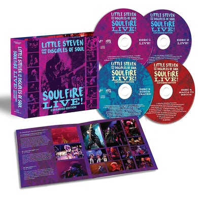 Little Steven Soulfire Live! (Expanded Edition) (4 CD) CD