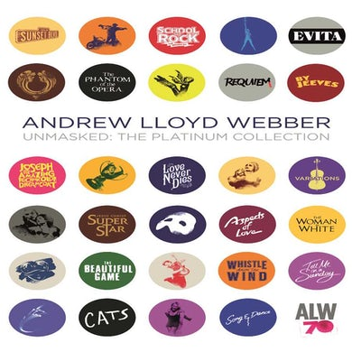 Andrew Lloyd Webber Unmasked: The Platinum Collection (4 CD) CD
