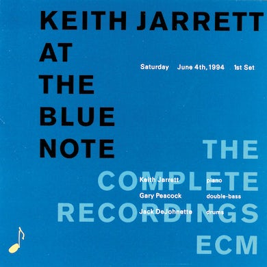 Keith Jarrett At The Blue Note CD