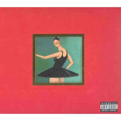 Kanye West My Beautiful Dark Twisted Fantasy (CD/DVD Combo) (Deluxe Edition) CD