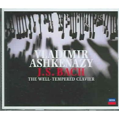 Johann Sebastian Bach Well Tempered Clavier Books 1 & 2 (4 CD) CD