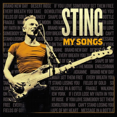 Sting My Songs (Deluxe) CD