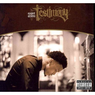 August Alsina Testimony (Explicit) CD