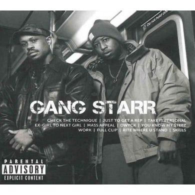 Gang Starr ICON (Explicit) CD