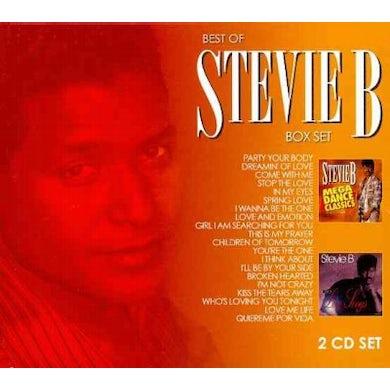 Stevie B. Mega Dance Classic & Love Songs 2 Pack (2 CD) CD