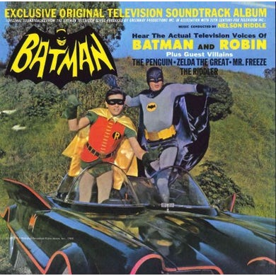 Batman (Exclusive Original Television Soundtrack Album) CD