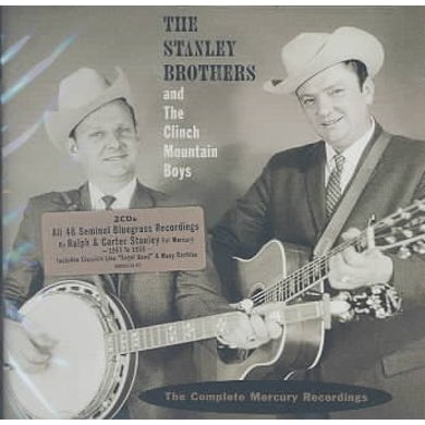 Stanley Brothers The Complete Mercury Recordings (2 CD) CD