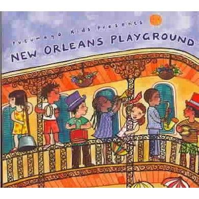 Putumayo Kids Presents New Orleans Playground CD