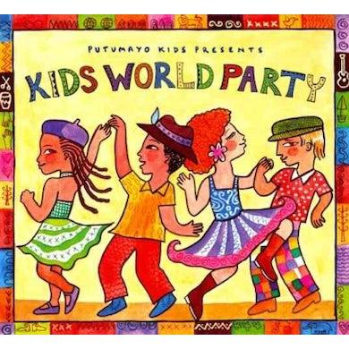 Putumayo Kids Presents Kids World Party CD