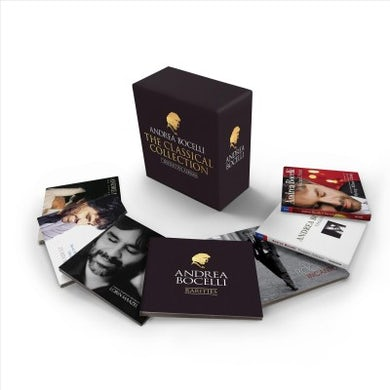 Andrea Bocelli - The Complete Classical Albums (7 CD) CD