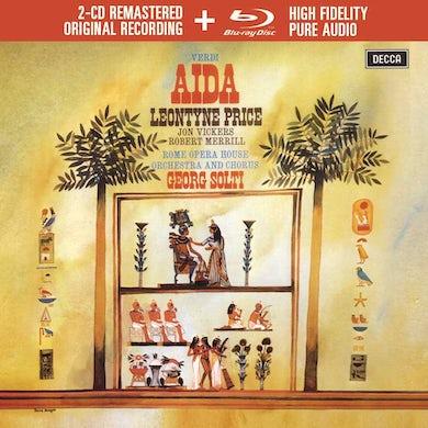 Leontyne Price  Verdi: Aida (2 CD/Blu-ray Audio)(Deluxe Edition) CD