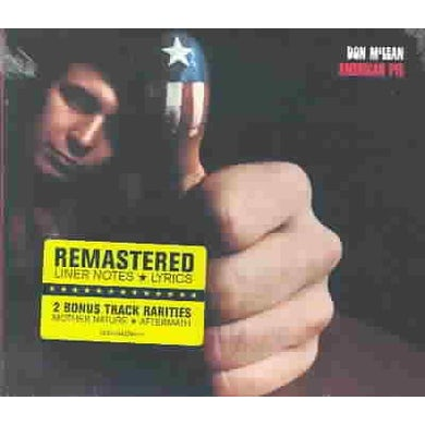 Don Mclean American Pie (Remastered) CD
