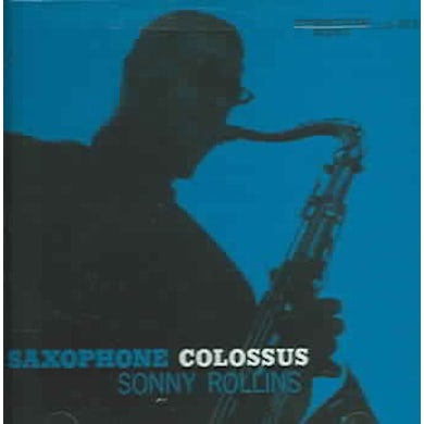 Sonny Rollins Saxophone Colossus (Reissue) CD