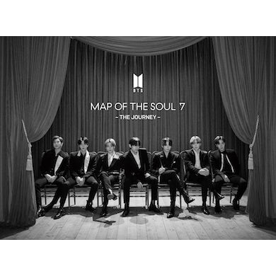 BTS MAP OF THE SOUL: 7 – THE JOURNEY (VERSION A) (LIMITED EDITION CD/BLU-RAY/BOOKLET/PHOTO CARD) CD