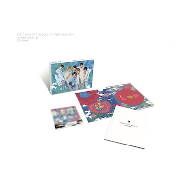 BTS MAP OF THE SOUL: 7 - THE JOURNEY (Limited Edition CD/Book) (Ver. D) CD