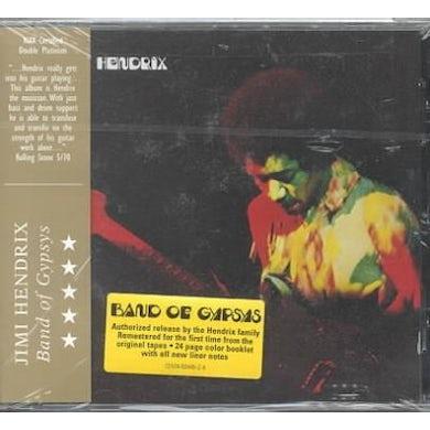 Jimi Hendrix Band Of Gypsys CD