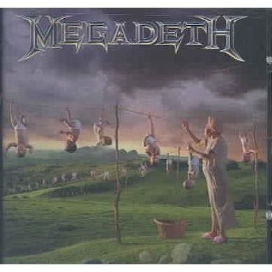 Megadeth Youthanasia (Remastered) CD