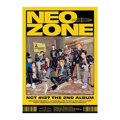 The 2nd Album 'NCT 127 Neo Zone' (N Ver.) CD
