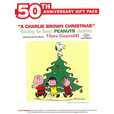 Vince Guaraldi A Charlie Brown Christmas (2 CD)(50th Anniversary Gift Pack) CD