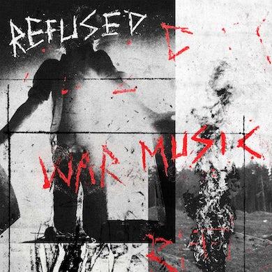 War Music (LP)(Red w/ Black Starburst) Vinyl Record
