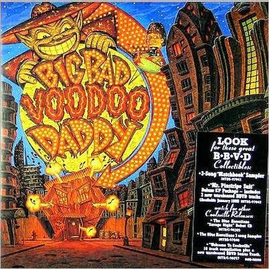 Big Bad Voodoo Daddy  It Feels Like Christmas Time (LP) Vinyl Record