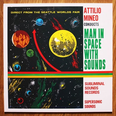 Attilio Mineo Man In Space With Sounds Vinyl Record