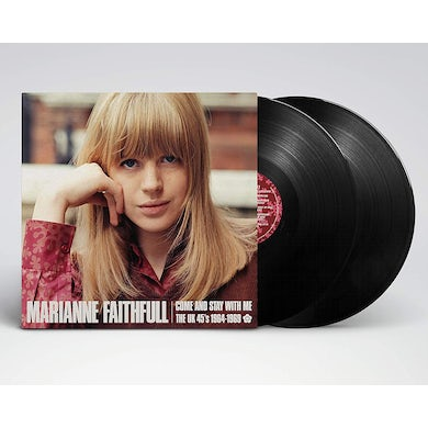 Marianne Faithfull Come and Stay With Me:The UK 45s 1964-1969 (2 LP) Vinyl Record