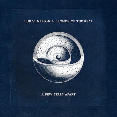 A Few Stars Apart (Ink & Paint Black w/ White Splatter LP) Vinyl Record