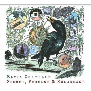 Elvis Costello Secret, Profane And Sugarcane (2 LP) Vinyl Record
