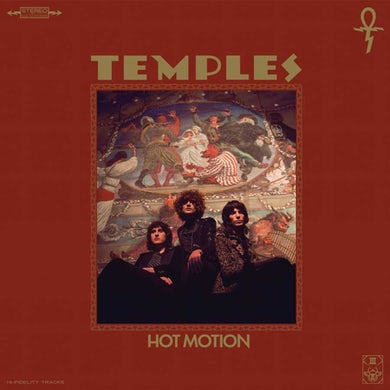 Temples Hot Motion (LP)(Forest Green/Tan with Red/Yellow Sp Vinyl Record