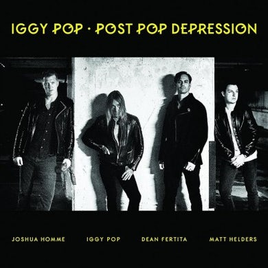 Iggy Pop Post Pop Depression Vinyl Record