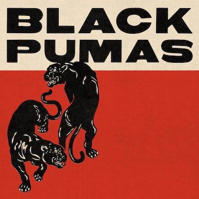 Black Pumas (Deluxe Gold & Red/Black Marble 2 LP) Vinyl Record